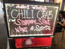 Signage for Chilli Crab & Singapore Sling, China Town