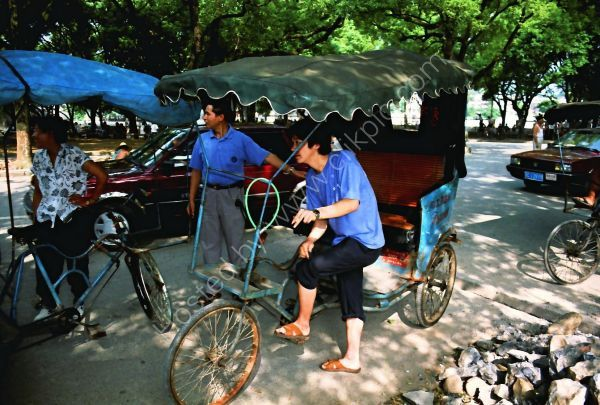 Chinese Trishaw Drivers, Guilin