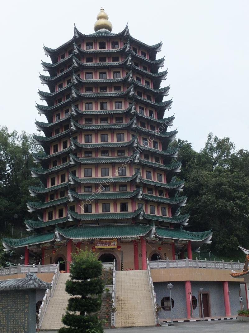 Pagoda at Chinese Temple, Kota Kinabalu