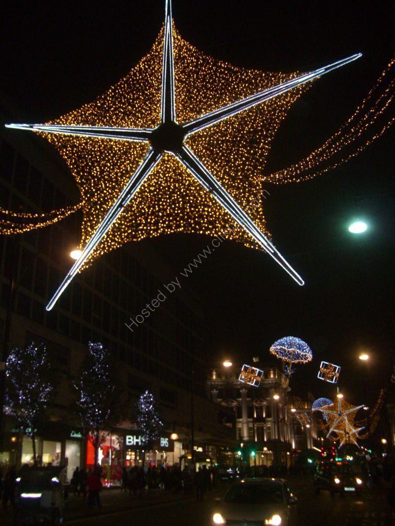 Christmas Lights, Oxford Street, London