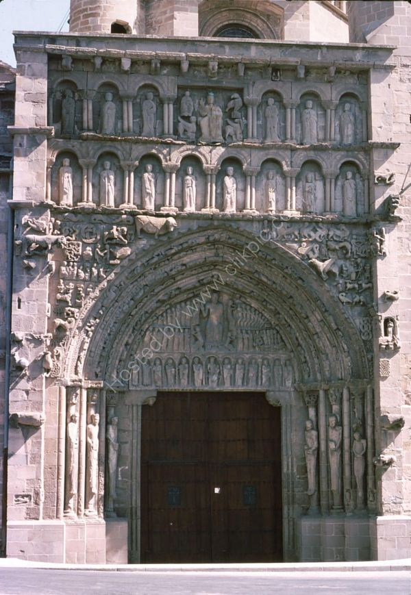 Church Doorway, Sanguesa