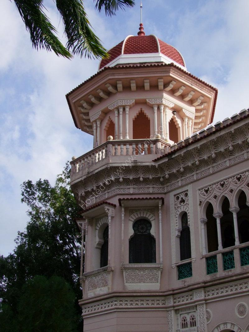 Detail of Palacio de Valle