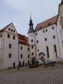 Colditz Castle, Inner Courtyard for Prisoners