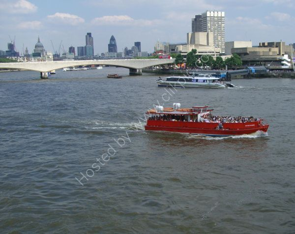 Cruise Boat, River Thames, London