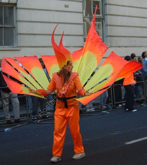 Nottinghill Carnival Costume