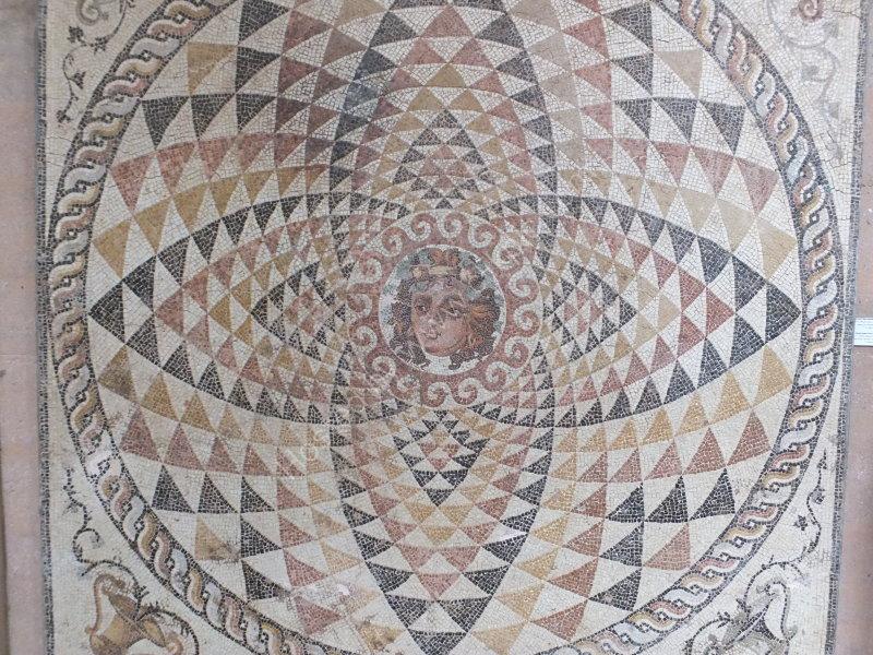 Roman Mosaic, Corinth Museum