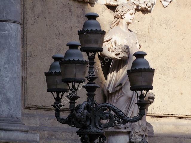 Lamp Post at Quatro Canti, Palermo