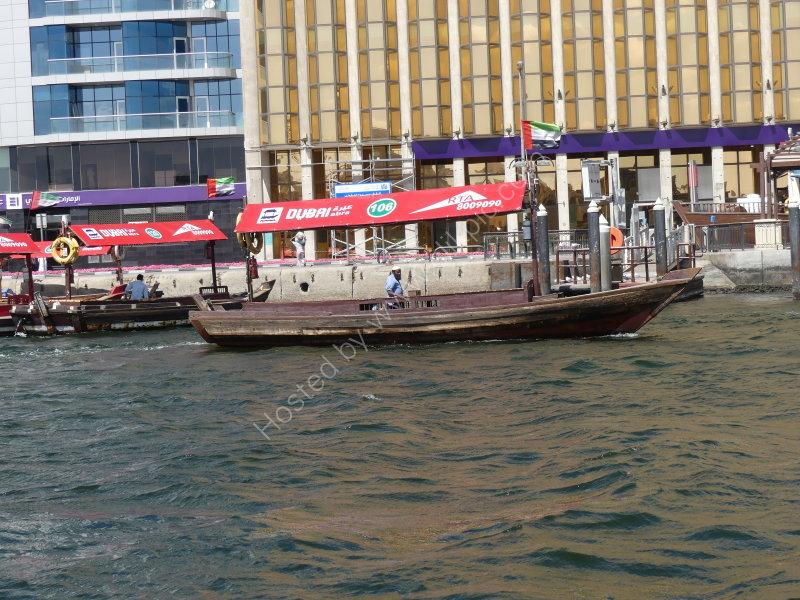 Water Taxi, The Creek, Dubai 2019