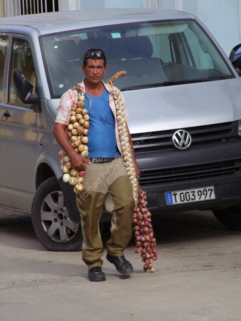 Cuban Onion Seller