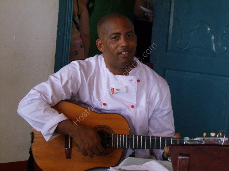 Cuban Chef, Escambray Plantation House, Sancti Spiritus