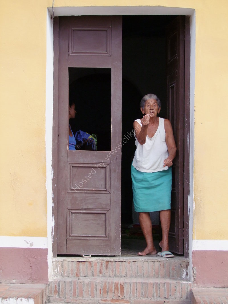 Cuban Woman, Trinidad