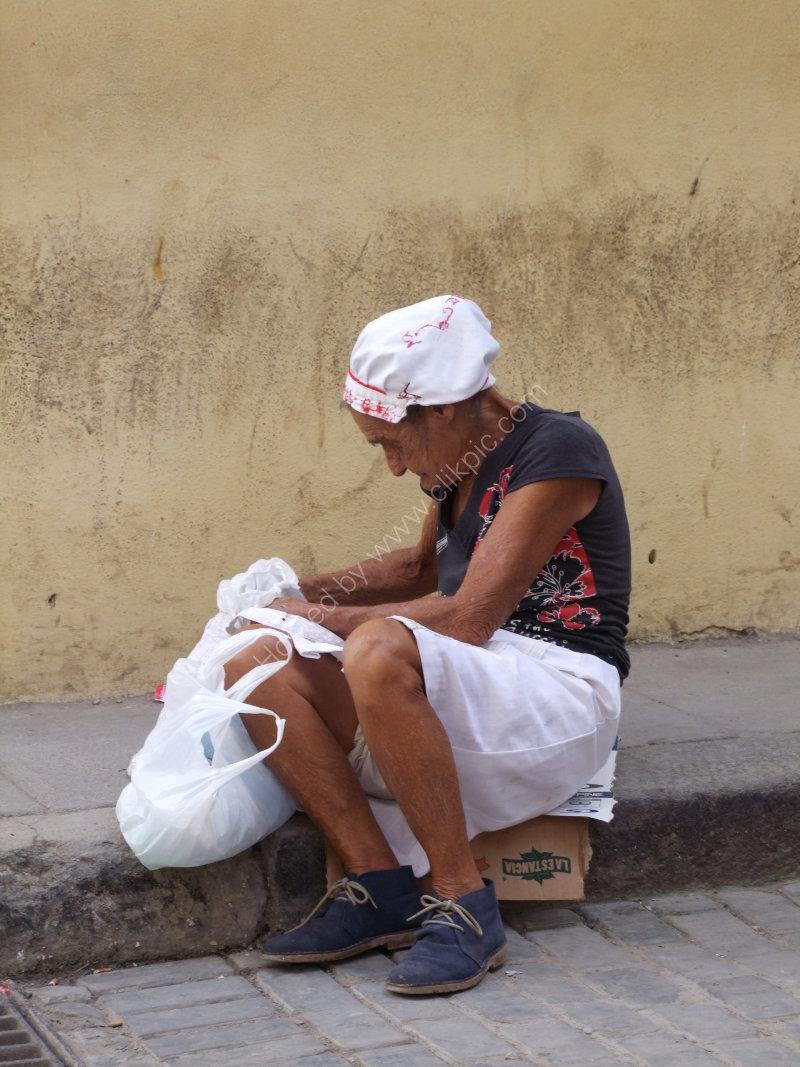 Old Cuban Lady
