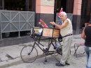 Cuban with Dog, Obispo Street, Havana