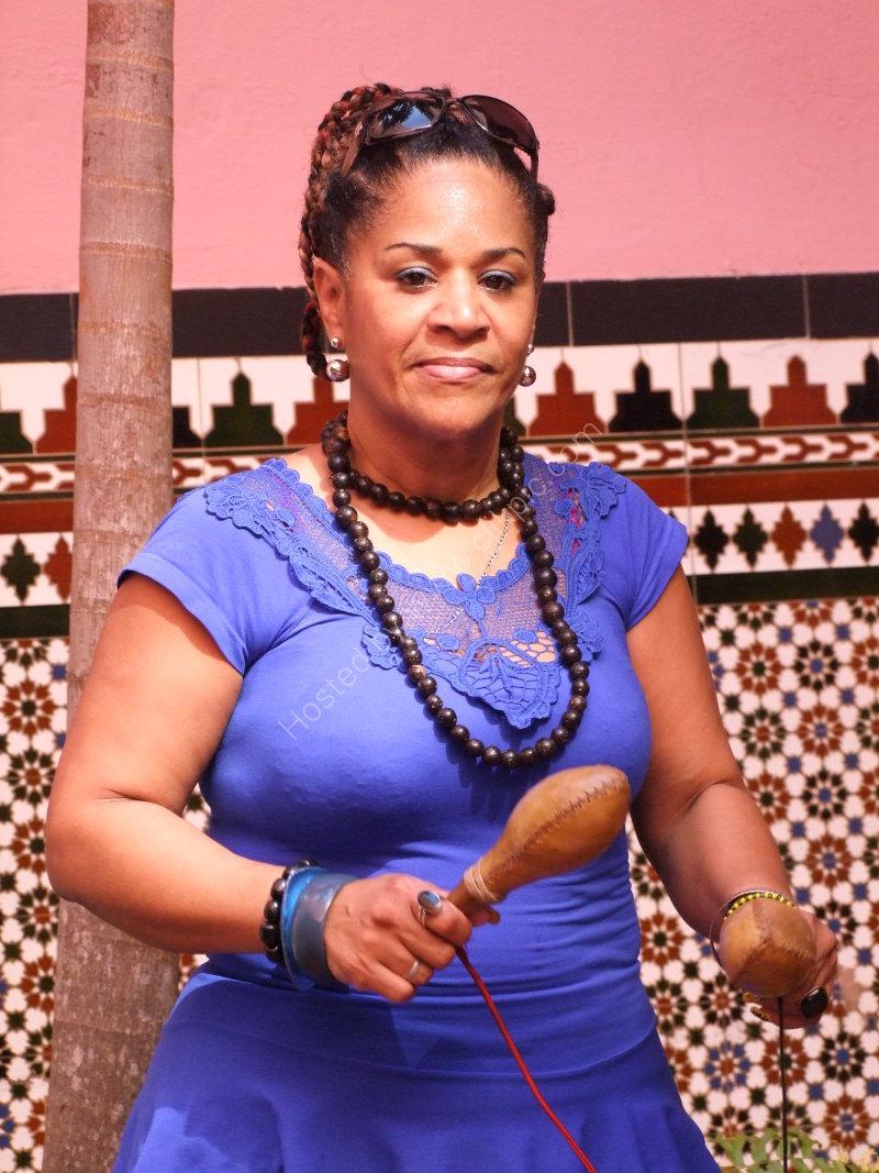 Cuban Musician, Hotel Saratoga, Prado, Havana