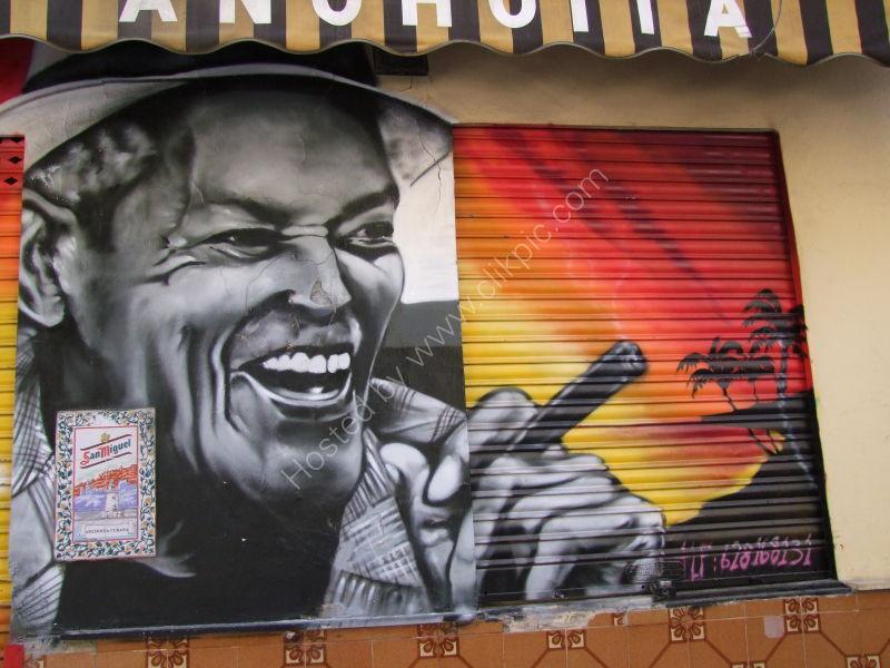 Cuban Club Signage, Malaga