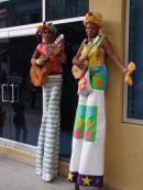 Cuban Performers, Obispo Street, Havana