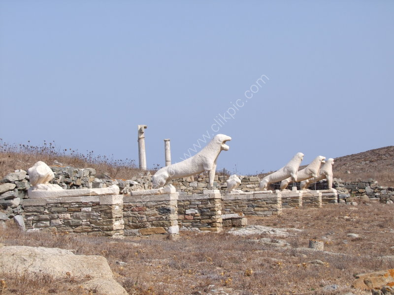 Terrace of  the Lions, Island of Delos