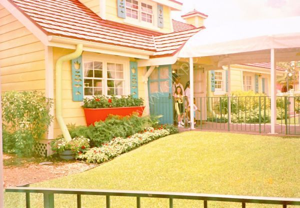 Micky & Mini Mouse's House, Disneyland, Florida