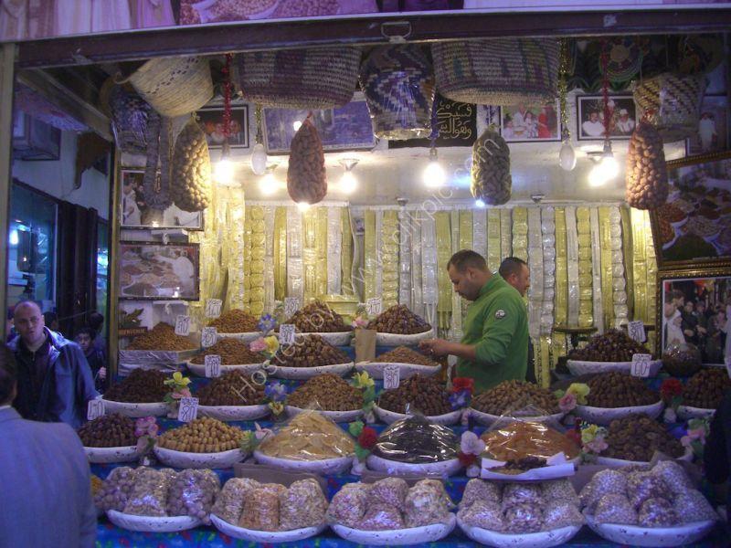 Dried Fruit Shop, Fes