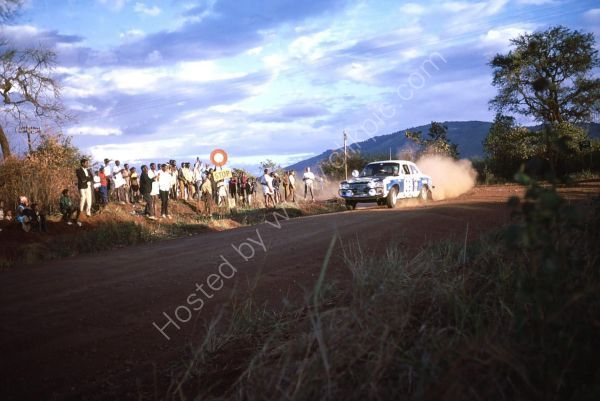 Evening, East African Safari Rally 1973, Ol Donyo Sabuk