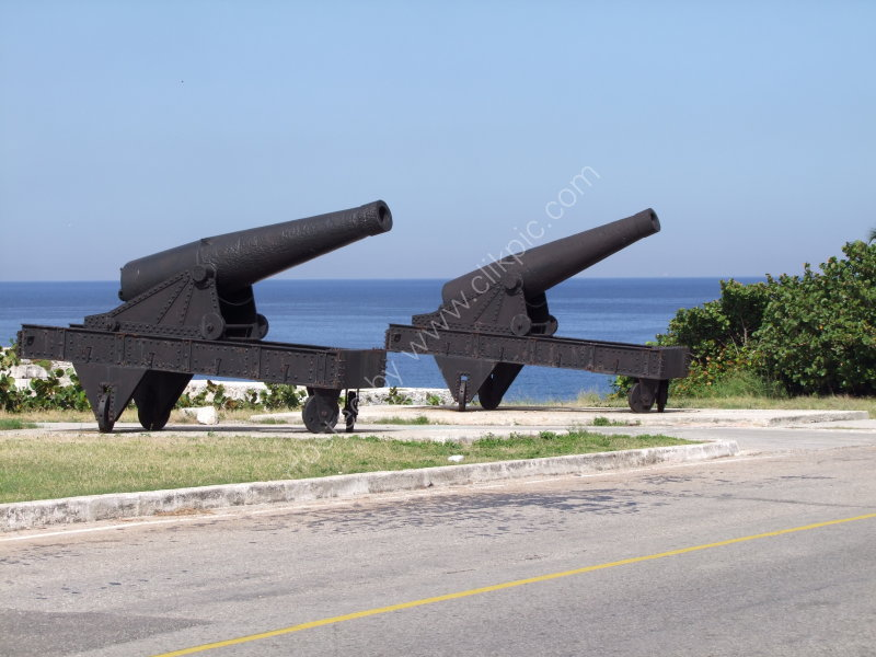 Cannons, El Morro Fort