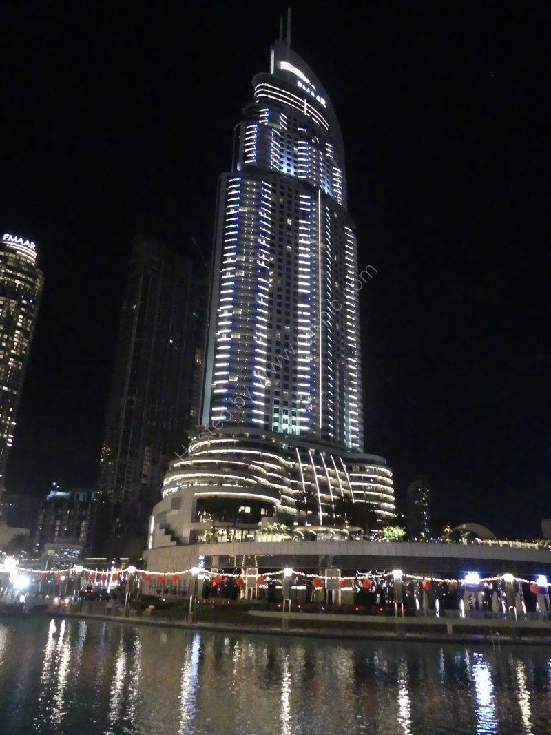 Skyscraper at Night, Dubai 2019