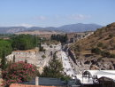 Processional Way viewed from Roman Terraced House, Ephesus