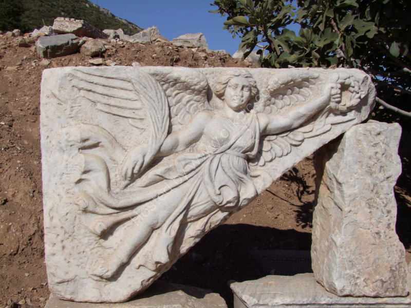 Roman Carved Marble found at Ephesus