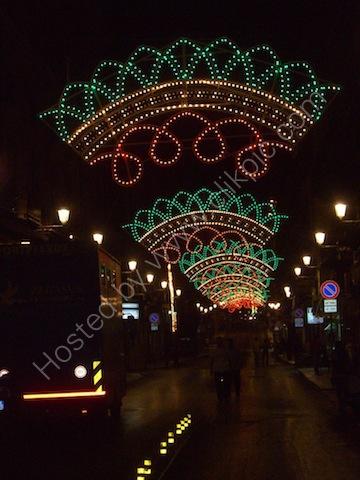 Festival Lighting, Maqueda, Palermo
