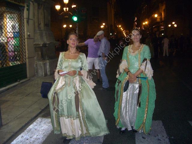 Period Dress, Festival, Palermo