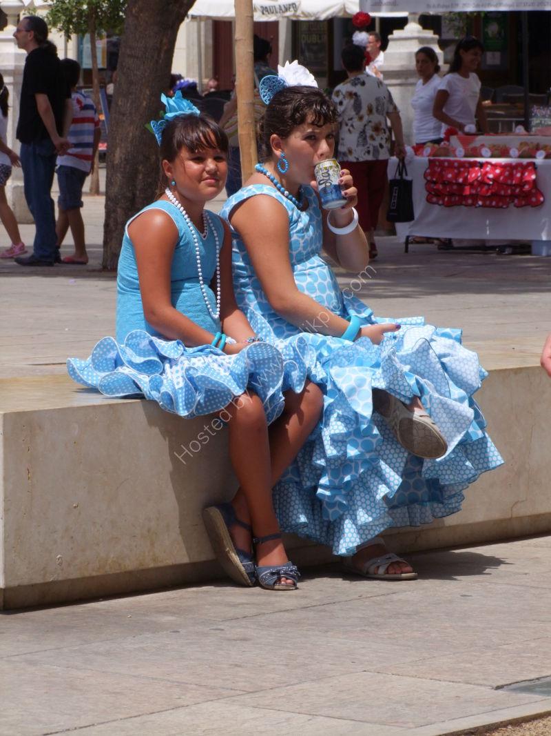 Girls in Costume, Malaga Festival