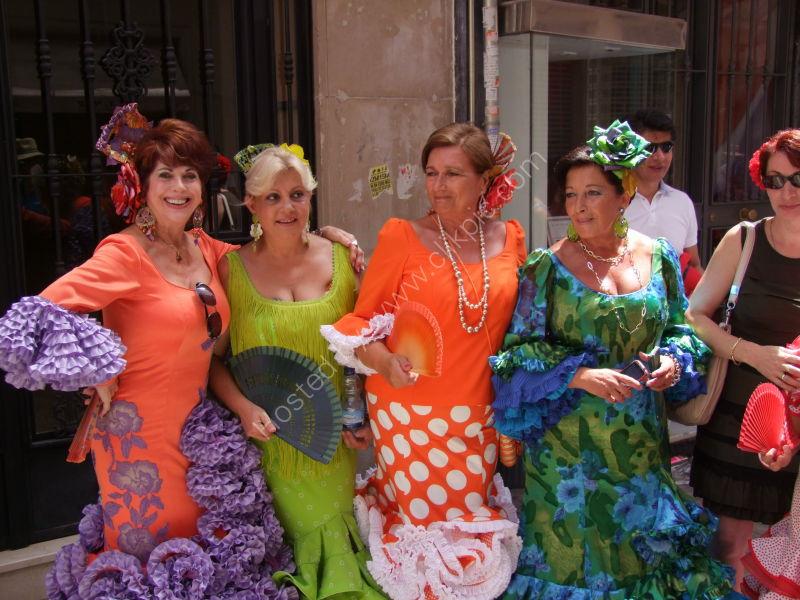 Costumes, Malaga Festival