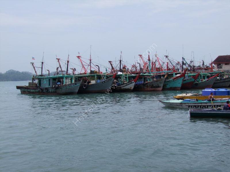 Fishing Boats, Kota Kinabalu Harbour