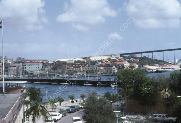 Floating Pontoon Bridge, Curacao