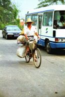 Cyclist, Countryside, Guilin