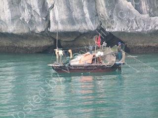 Fishing Boat, Halong Bay