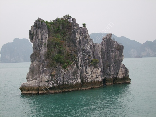 Limestone Rock Formations, Halong Bay