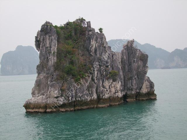 Limestone Rock Formations, Halong Bay