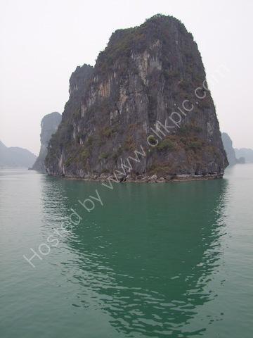 Limestone Rock Formation, Halong Bay