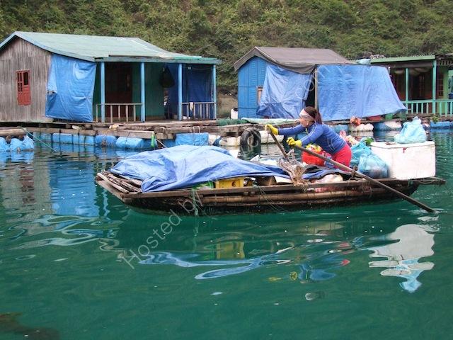 Floating Shop, Floating Fishing Village, Halong Bay