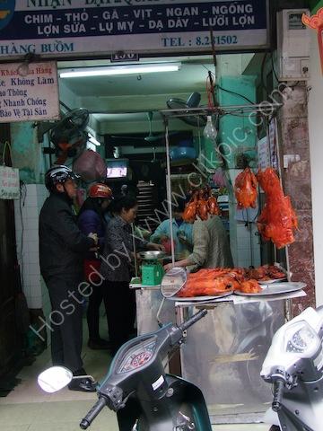 Butchers Shop, Old Town, Hanoi