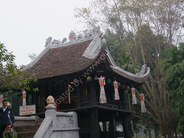 One Pillar Pagoda, Chua Mot Cot, Hanoi