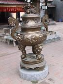 Bronze Incense Burner, Den Do Temple, Hanoi