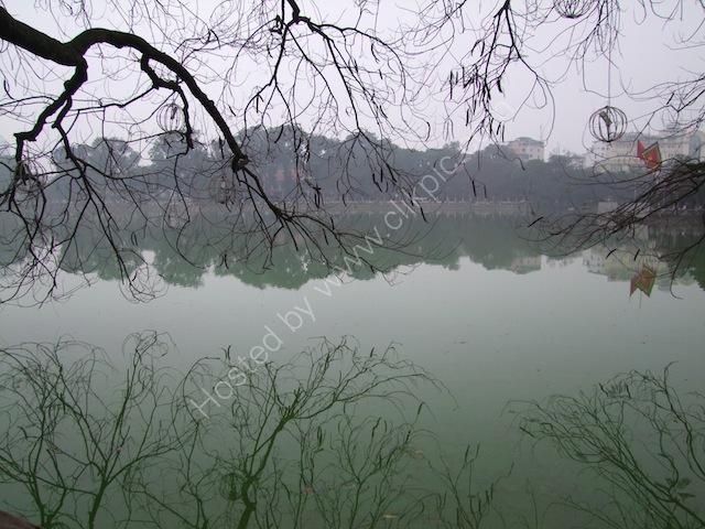 Reflections, Ho Hoan Kiem Lake, Hanoi