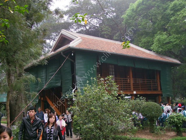 Nha San Bac Ho (Last House of Ho Chi Minh), Hanoi