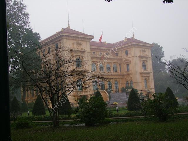Phu Chu Tich, Presidential Palace, Hanoi