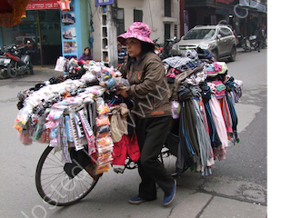 Clothes Seller, Hanoi