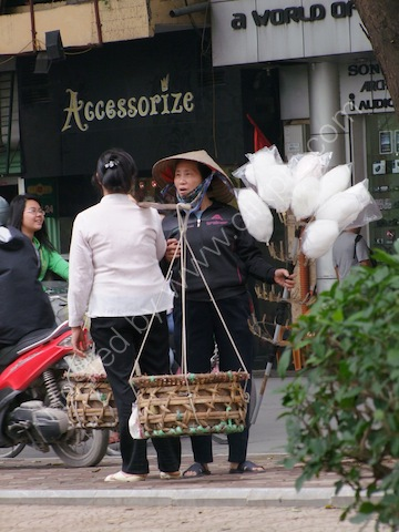 Candy Floss Seller, Hanoi