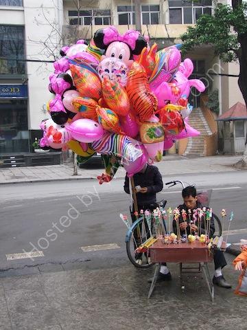 Balloon Seller, Hanoi