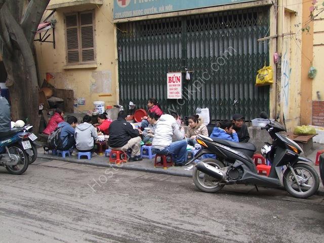 Street Restaurant, Hanoi